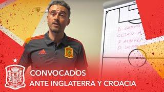 Convocatoria de Luis Enrique para los partidos ante Inglaterra y Croacia