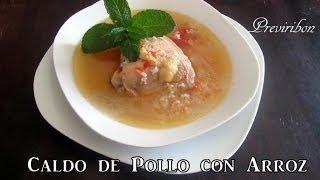 Caldo De Pollo Con Arroz -pollo A La Mexicana  *video 167*