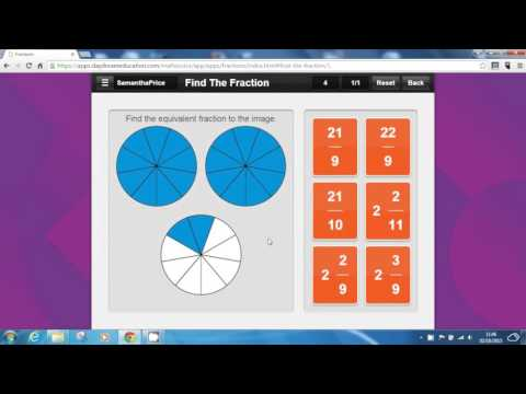 Fractions Maths App - Maths Tutor: The Best Fractions App for iPad, Android & Web browsers