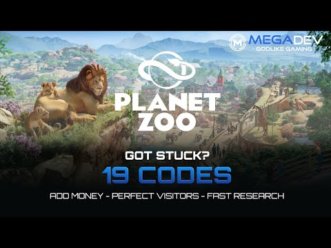 PLANET ZOO Cheats: Add Money, Never Hungry, Always Clean Enclosures, ... | Trainer By MegaDev