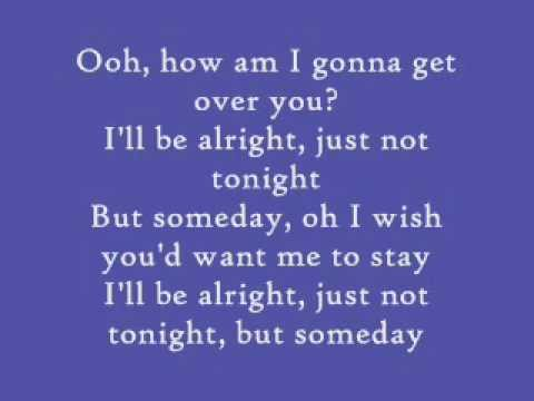 Sara Bareilles-Gonna Get Over You Lyrics
