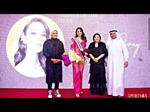 CATRIONA GRAY FIRST TIME IN DUBAI ( Tinanghal Na Woman Of The Year Ng Xpedition Magazine)