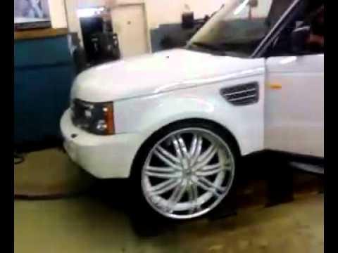 """26""""s on Range Rover Sport - YouTube"""