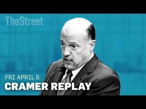 Jim Cramer on the Trump Tariffs, March Jobs Report and Spotify's Direct Listing