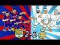 2 2 EL CLASICO KUNG FU FIGHTING Barcelona Vs Real Madrid Parody Song Highlights Goals 2018 mp3
