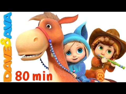 Thumbnail: 🤠 Yankee Doodle | Kids Songs | Nursery Rhymes and Songs for Kids from Dave and Ava 🤠