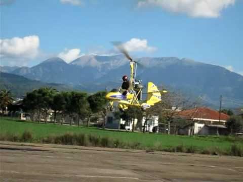 Aviomania GREAT FLYING Gyrocopter Agrinio Greece