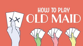 How To Play Old Maid - Animated Infographic