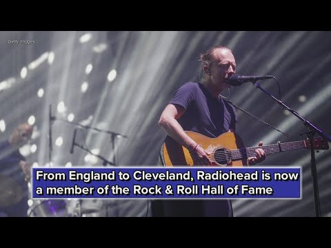 Radiohead inducted into Rock & Roll Hall of Fame Mp3