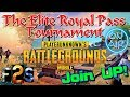 PUBG MOBILE 🍳 The Elite Royal Pass Tournament Day 3 - Do We Sleep!?! 🎮English/Norsk Game🎯 公式 *