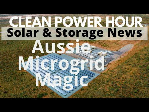 Biggest floating solar! | Aussie microgrid is for real | Clean Power Hour Ep.52