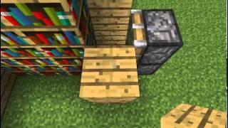 איך לבנות דלת לחדר סודי ב-minecraft