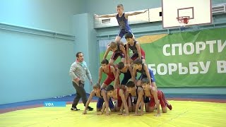 Уфимские школьники смогут обучаться навыкам греко-римской борьбы