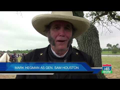 Sam Houston and Texian Army win Battle of San Jacinto - again