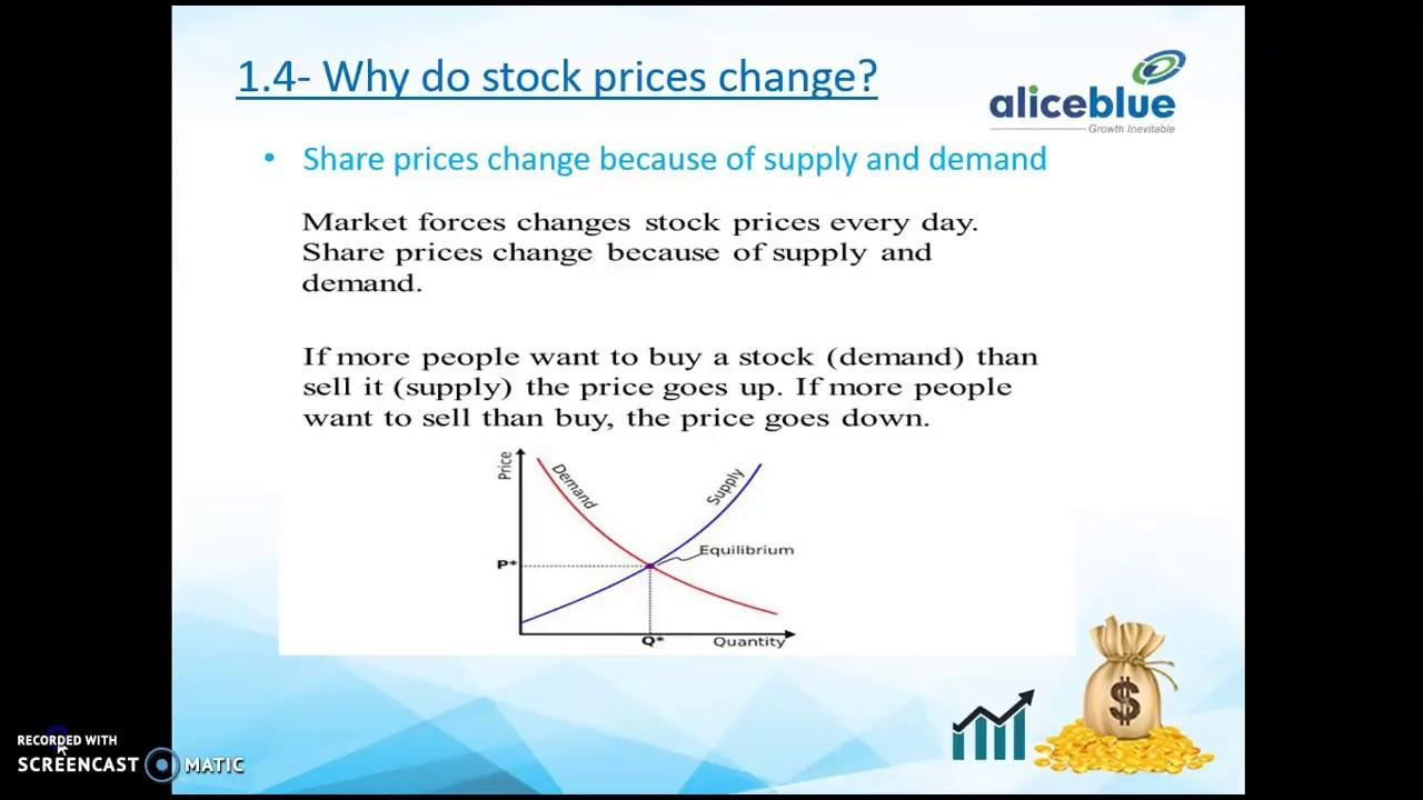 Module 1 Equity Trading Basics Ii Stocks Nse Shares