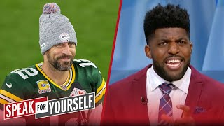 Anytime Aaron Rodgers is arrogant, it always precedes his success - Acho | NFL | SPEAK FOR YOURSELF