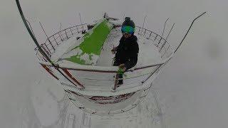 BNT 248 Rumuńskie Monstrum 2 (śnieg na kominie 350m.)