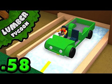Lumber Tycoon #58: Starting our Parking Lot!! | Roblox