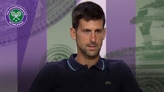 Novak Djokovic Wimbledon 2017 fourth round press conference