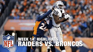 Raiders vs. Broncos | Week 14 Highlights | NFL