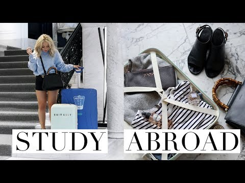 HOW TO PACK YOUR SUITCASE FOR A SEMESTER ABROAD WITH ERASMUS+ | Study Abroad Series #2