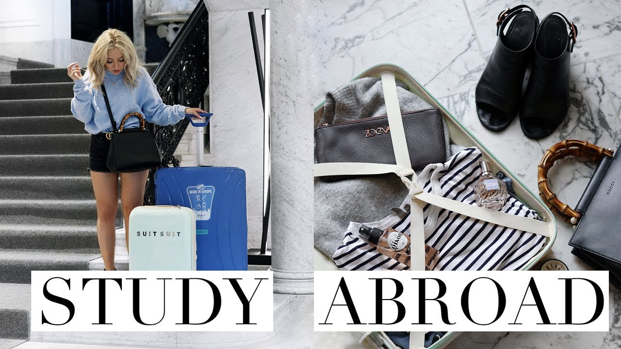 Tipshow Fashion to pack for study abroad video