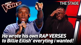 Okulaja performs 'everything i wanted' by Billie Eilish | The Voice Stage #44