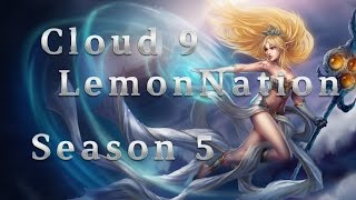 C9 LemonNation Janna Support vs Thresh Season 5 Patch 5.8