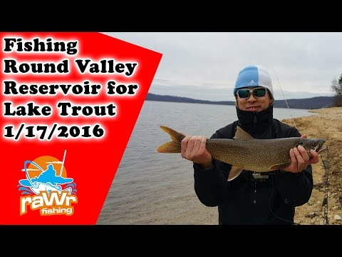 Fishing Round Valley For Lake Trout Ft. Extreme Philly Fishing And Zach Merchant