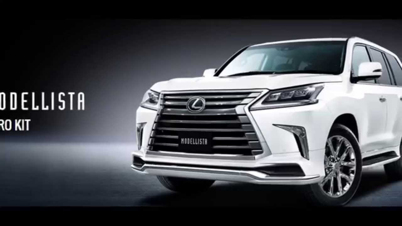 lexus lx570 modellista youtube. Black Bedroom Furniture Sets. Home Design Ideas