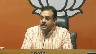 Media Briefing by Dr Sambit Patra