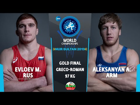 GOLD GR - 97 Kg: M. EVLOEV (RUS) V. A. ALEKSANYAN (ARM)