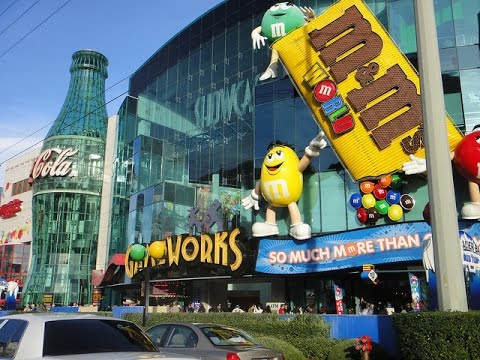 M&M'S World Las Vegas - YouTube