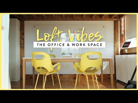OUR OFFICE & WORK SPACE MAKEOVER