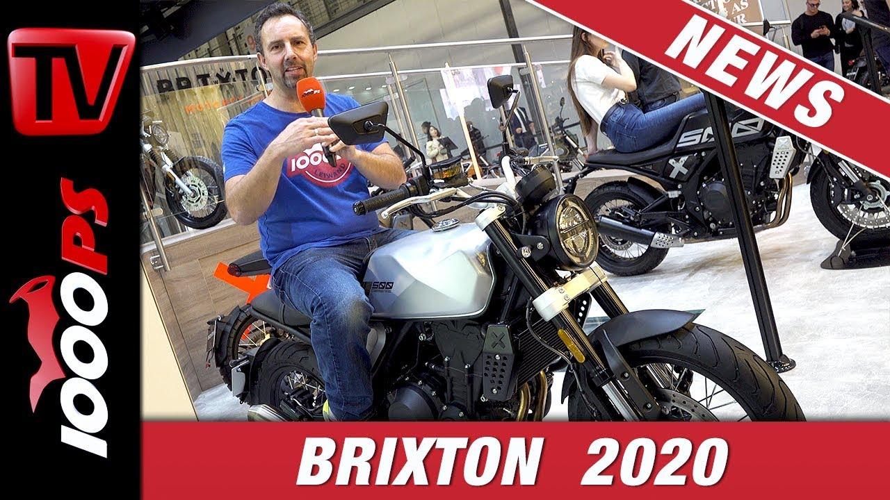Brixton Crossfire 500 günstiges A2 Retrobike auf der EICMA 2019