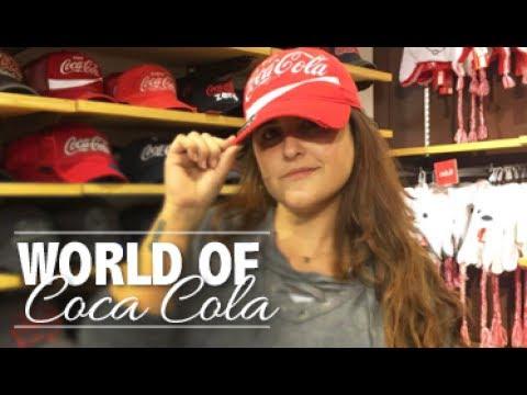 ENORME LOJA World of COCA-COLA de ATLANTA