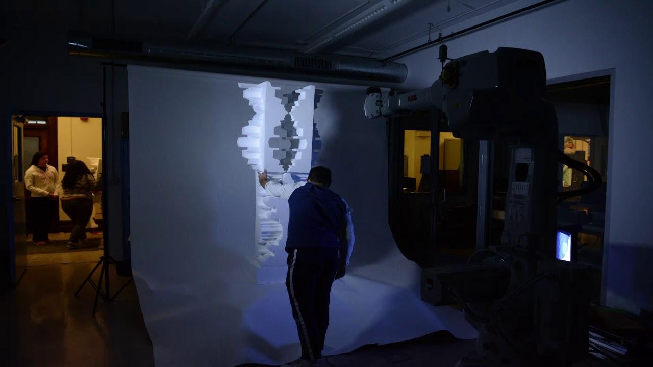 Robotic Photoshoot Timelapse RPI Architecture Vertical Studio