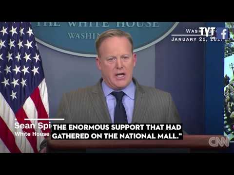 Thumbnail: Sean Spicer​ = The. WORST. Press. Secretary. Of All Time. Period.