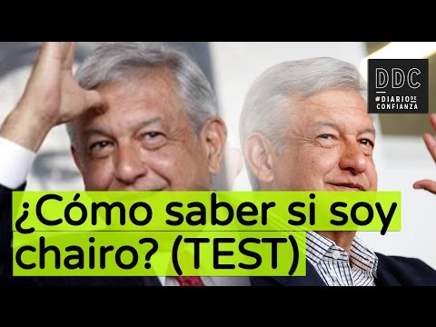 ¿Cómo saber si soy chairo? (TEST)