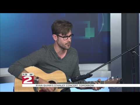 Ryan Quinn Performs on the Live at Five Newshour