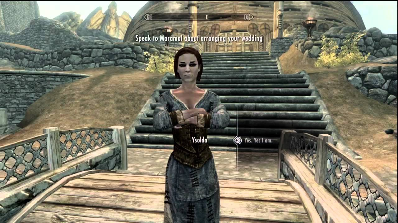 Skyrim how to get married youtube
