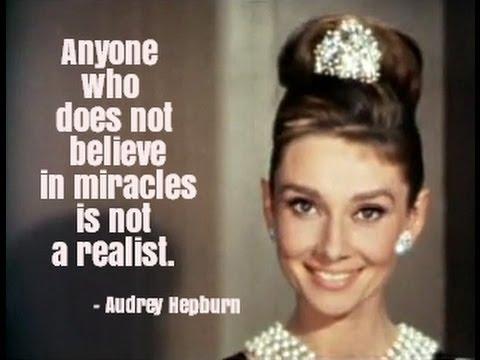 Audrey Hepburn Quotes - YouTube