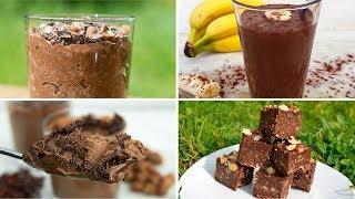 "Healthy ""Nutella"" Style Vegan Recipes [chocolate and hazelnut]"