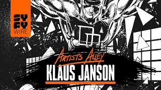 Drawing Daredevil: Klaus Janson In Conversation (Artists Alley) | SYFY WIRE