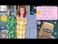OLD NAVY SPRING DRESS TRY ON | SIRENA GRACE CELES | AFFORDABLE SPRING DRESSES