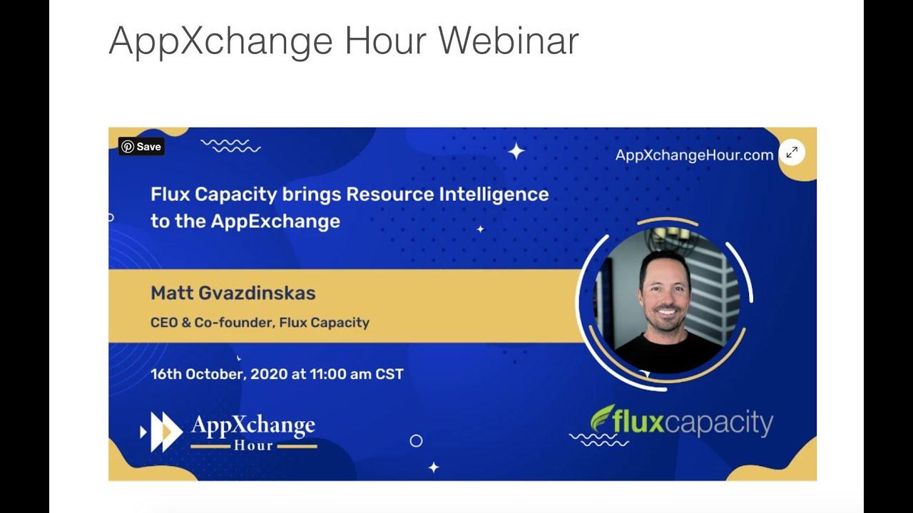 AppXchange Hour Webinar