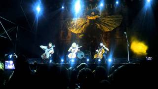 Apocalyptica - Nothing else Matters (17/01/12 Paraguay) HD 720p