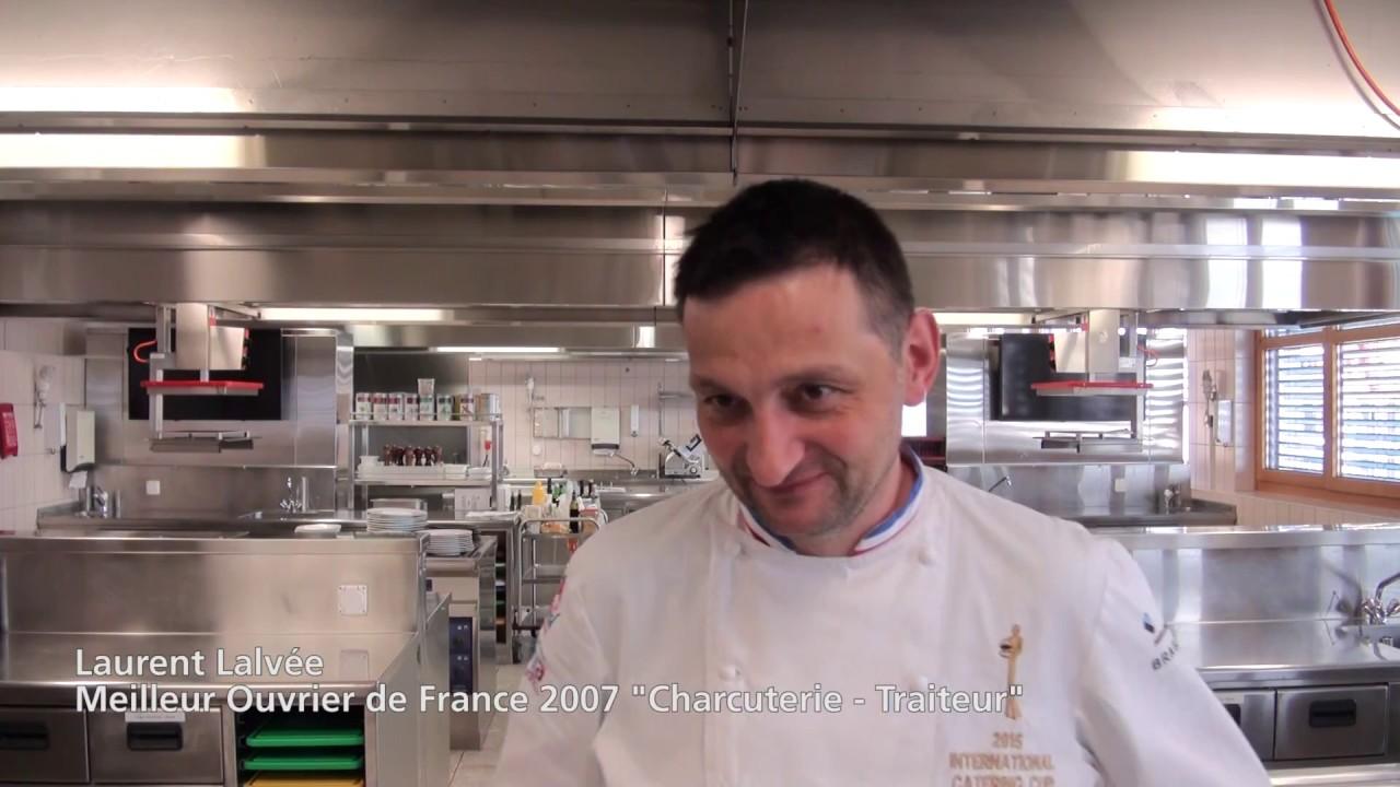 Interview de Laurent Lalvée, MOF « Charcuterie-Traiteur » en 2007