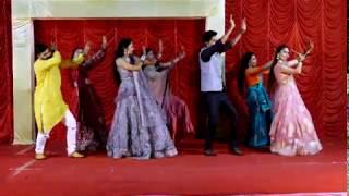 Gallan Goodiyaan   Best Indian Wedding Dance   Cousins Dance Performance with bride