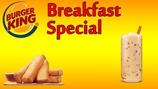 ♦ Burger King Breakfast Special ♦ The Fast Food Review ♦